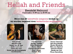 Hellah and Friends en jubileum 25 jaar stichting Two Tone